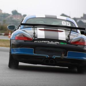 Conducir un Porsche Boxster Cup en circuito en Montmeló Escuela 1,7km (Barcelona)