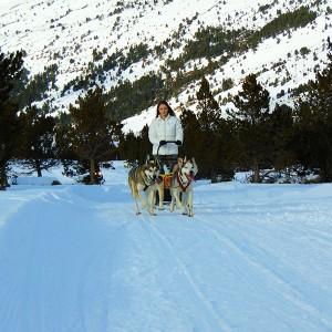 Conducir un trineo temporada 2019/20 en Grandvalira (Andorra)