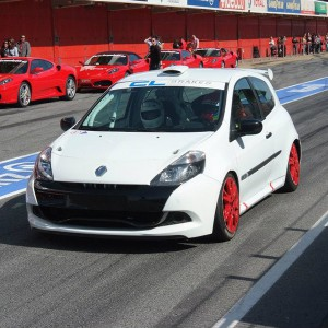 Copilotaje Extremo Renault Clio Cup en circuito en Los Arcos 3,9km (Navarra)