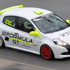 Copilotaje Extremo Renault Clio Cup en circuito en Monteblanco 2,7km (Huelva)