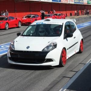 Copilotaje Extremo Renault Clio Cup en circuito en Monteblanco 3,9km (Huelva)