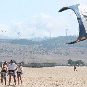 Curso privado de kitesurf para dos en Tarifa (Cádiz)