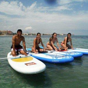 Curso de iniciación al paddle surf en Valencia