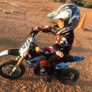 Curso de moto para niños en Cheste (Valencia)