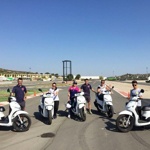Curso de conducción de Scooter en Cheste (Valencia)