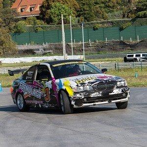 Drift con BMW en circuito asfalto Brunete (Madrid)