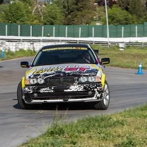 Drift con BMW en circuito asfalto Can Padró (Barcelona)