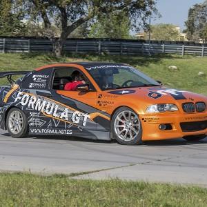 Drift con BMW en circuito asfalto FK1 (Valladolid)