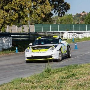 Drift con Porsche en circuito asfalto Brunete (Madrid)