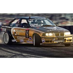 Drift BMW en circuito deslizante Jarama (Madrid)