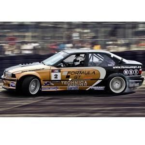 Drift BMW en circuito deslizante Montmeló (Barcelona)