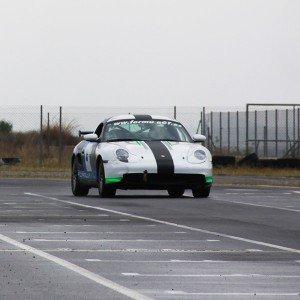 Drift con Porsche en circuito asfalto Can Padró (Barcelona)