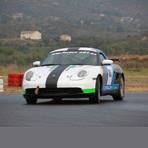 Drift con Porsche en circuito deslizante Montmeló (Barcelona)