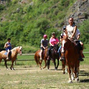 Excursión a caballo en Llavorsí (Lleida)