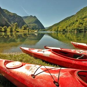 Excursión en kayak en Llavorsí (Lleida)