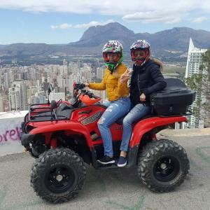 Excursión en quad en Benidorm (Alicante)