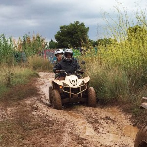 Excursión en quad en Denia (Alicante)