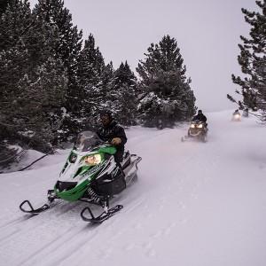 Excursión nocturna en moto de nieve para dos temporada 2020/21 en Grandvalira (Andorra)
