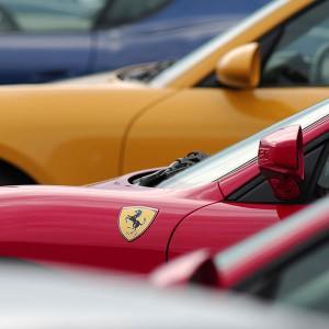 Ferrari + Lamborghini + Porsche en circuito en Brunete 1,6km (Madrid)
