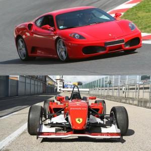 Ferrari + Fórmula 2.0 en circuito en Calafat 2,6km (Tarragona)