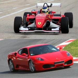 Ferrari + Fórmula 2.0 en circuito en Can Padró 2,2km (Barcelona)