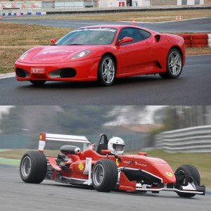 Ferrari + Fórmula 2.0 en circuito en FK1 2km (Valladolid)