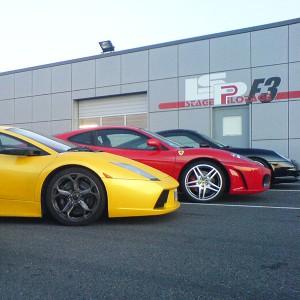 Ferrari + Lamborghini + Porsche en circuito en Campillos 1,6km (Málaga)