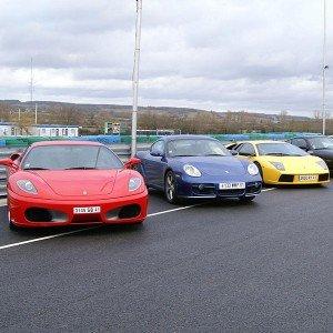 Ferrari + Lamborghini + Porsche en circuito en Kotarr 1,8km (Burgos)