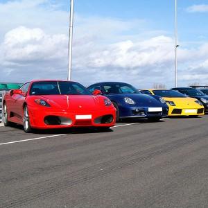 Ferrari + Lamborghini + Porsche en circuito en Los Arcos 3,9km (Navarra)