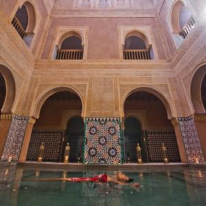 Baños árabes + kessa + masaje MIDRA en Málaga