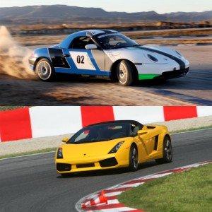 Lamborghini circuito + Porsche drift en El Jarama 3,8km (Madrid)