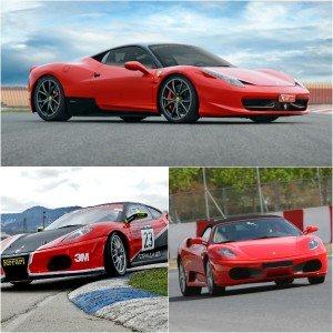 Pack Ferrari Pasión en circuito en El Jarama 3,8km (Madrid)