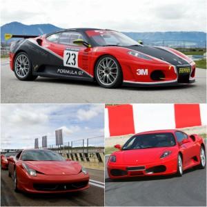 Pack Ferrari Pasión en circuito en Los Arcos 3,9km (Navarra)