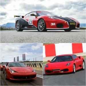 Pack Ferrari Pasión en circuito en Monteblanco 3,9km (Huelva)