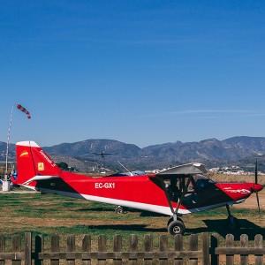 Pilotar una avioneta ultraligera en La Llosa (Castellón)