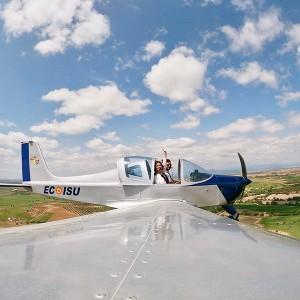 Pilotar una avioneta ultraligera en Villacastín (Segovia)