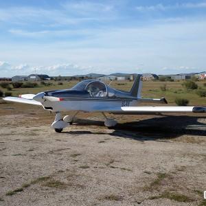 Pilotar una avioneta ultraligera en Don Benito (Badajoz)