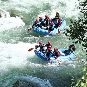 Rafting 14km en Llavorsí (Lleida)