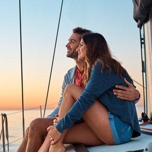Salida privada en velero para dos en Barcelona