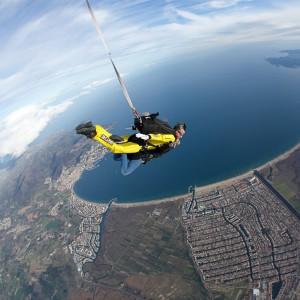 Salto en paracaidas  PLATINIUM en Empuriabrava (Girona)
