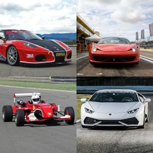 VIP Lamborghini + 2 Ferraris + Fórmula en Montmeló Nacional 3km (Barcelona)