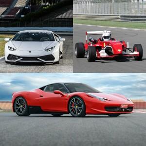 VIP Lamborghini + Ferrari + Fórmula en El Jarama 3,8km (Madrid)