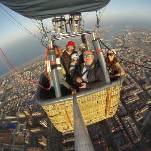 Vuelo en globo al atardecer en L'Anoia (Barcelona)