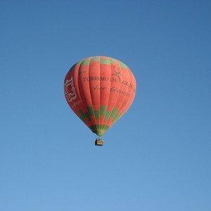 Vuelo en globo en Arcos de la Frontera (Cádiz)