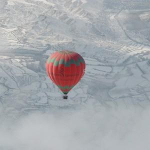 Vuelo en globo en Guadix (Granada)