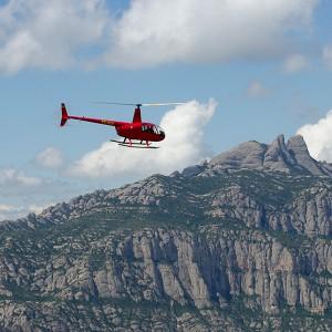 Vuelo en helicóptero en Montserrat (Barcelona)