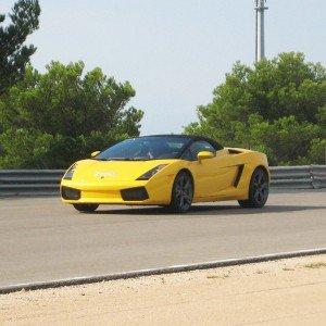 Lamborghini en carretera - 11 km