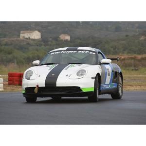 Drift con Porsche - 4 vueltas