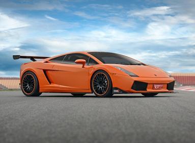 Conducir un Lamborghini