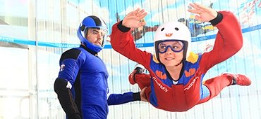 Indoor skydiving in Madrid